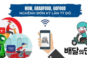 Now, GrabFood và GoFood chuẩn bị nghênh đón kỳ lân tỷ đô Hàn Quốc