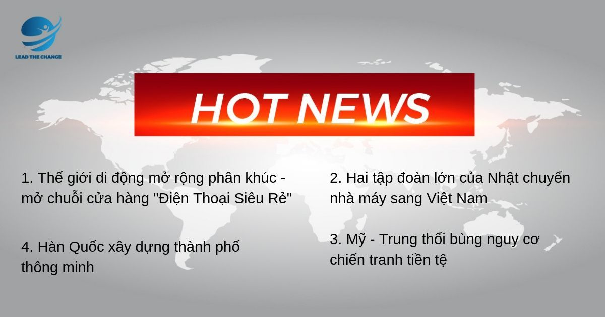 Hotnews 6/8 - lead the change community